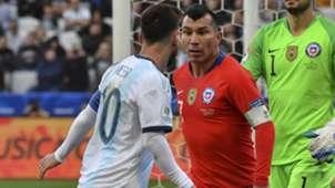 Messi Medel Argentina Chile Copa América 06072019