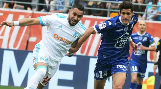 Dimitri Payet Francois Bellugou Troyes Marseille Ligue 1 15042018