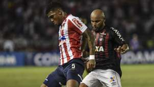 Rafael Perez Jonathan Junior Barranquilla Atletico-PR Copa Sudamericana final 05122018