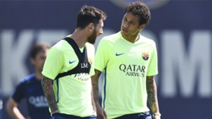 Messi Neymar Barcelona treino 26 05 17
