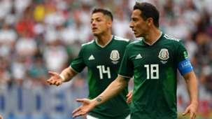 Chicharito Andrés Guardado Selección mexicana 081118