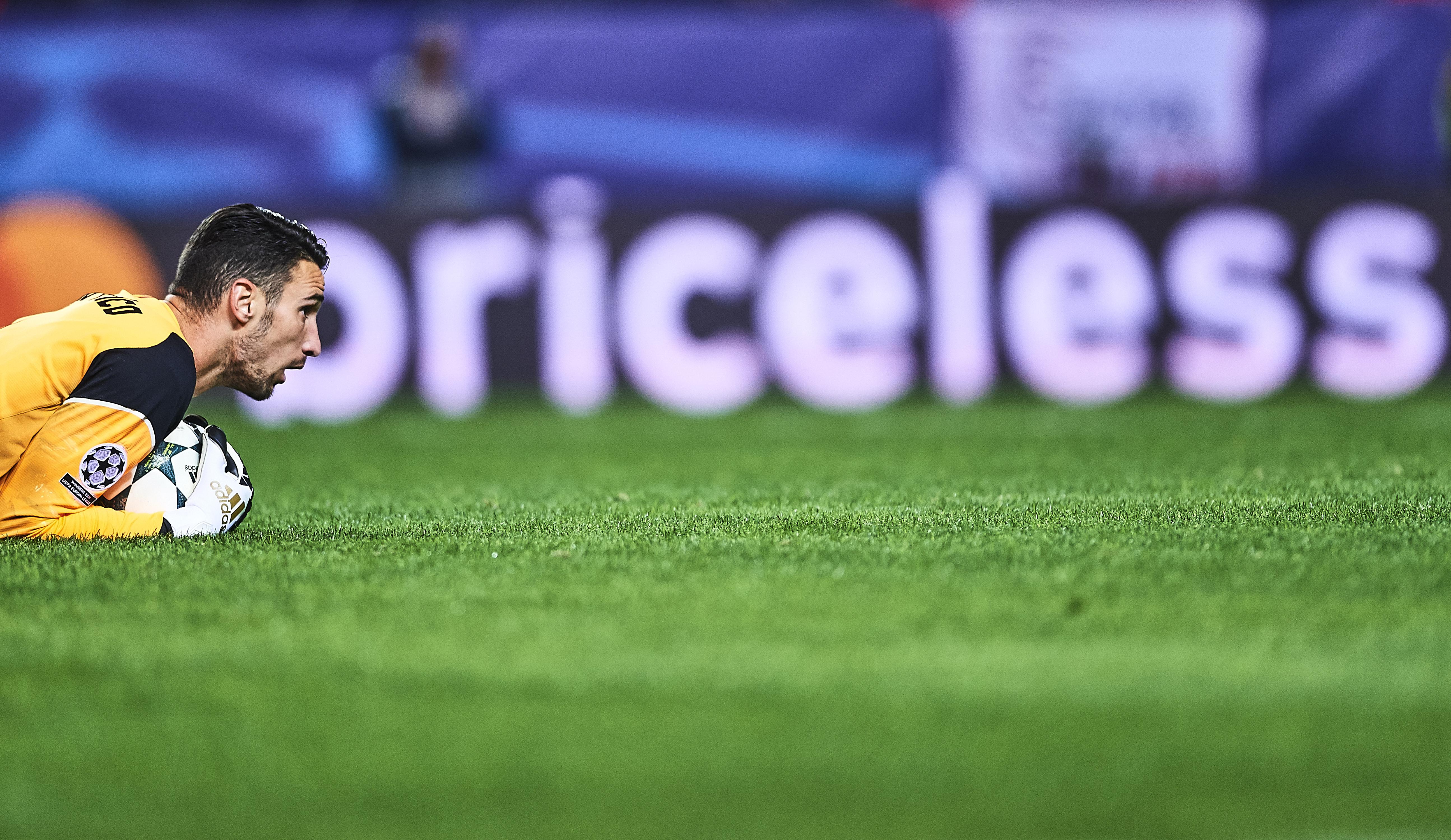 Sergio Rico Sevilla Juventus UCL 22112016