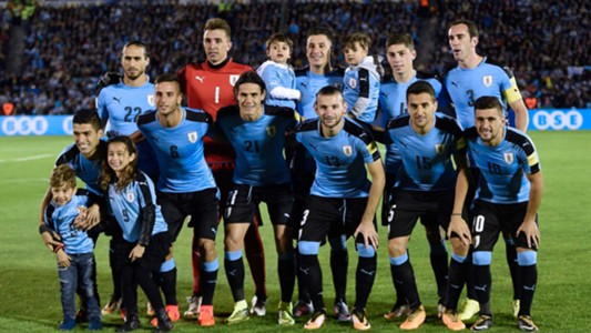 2018-05-16-Uruguay national football team players