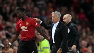 2018-08-12 Paul Pogba Jose Mourinho