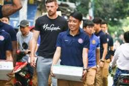 Nguyen Ngoc Duy Sai Gon FC volunteer program