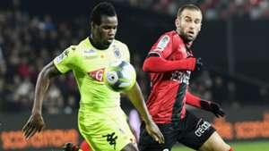 Lucas Deaux Lassana Coulibaly Guingamp Rennes Ligue 1 18112017
