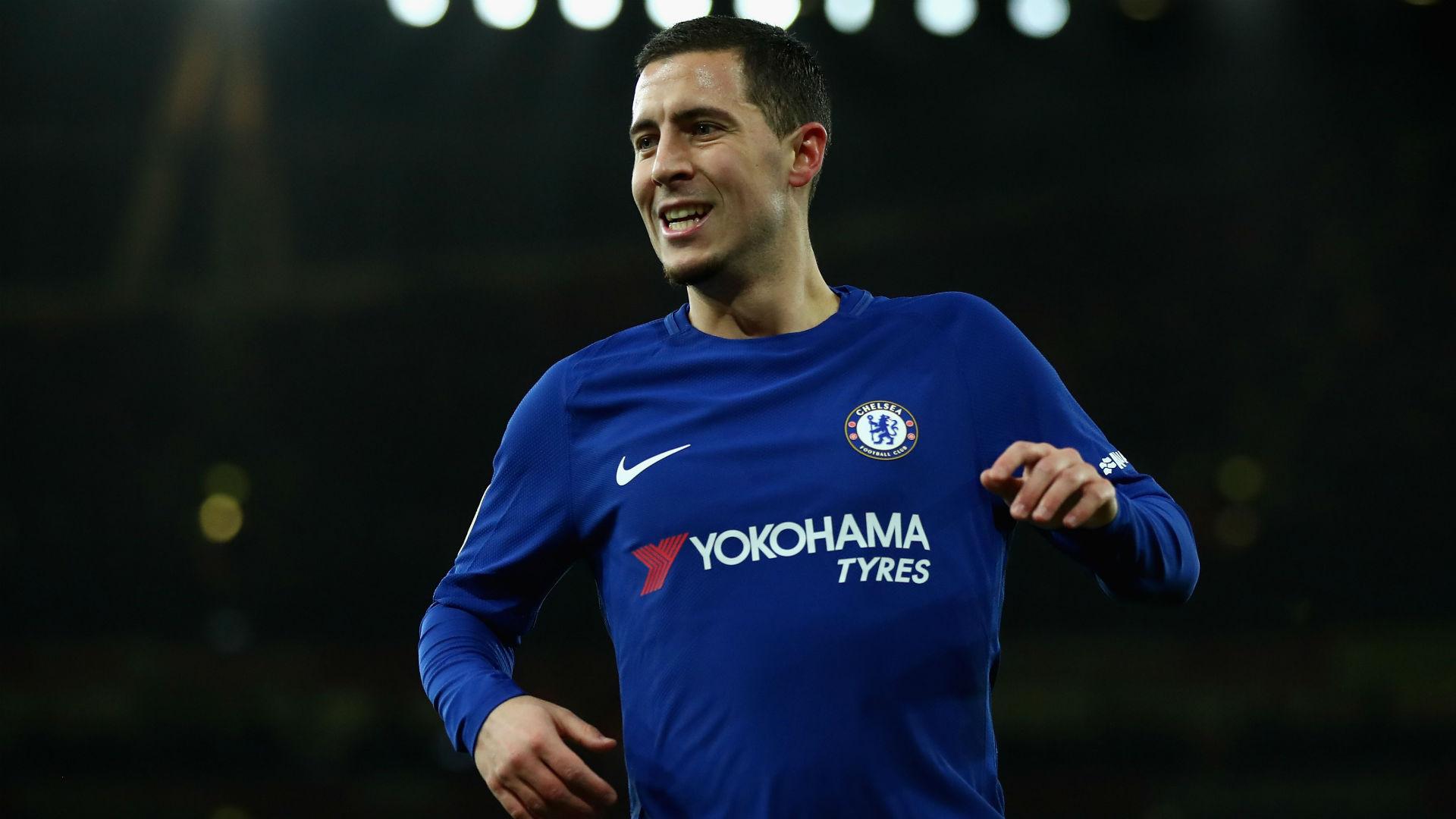 Eden Hazard Chelsea Arsenal 03012018
