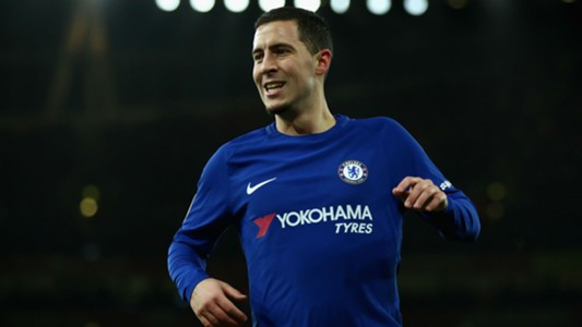 Eden Hazard Chelsea Arsenal 03012018