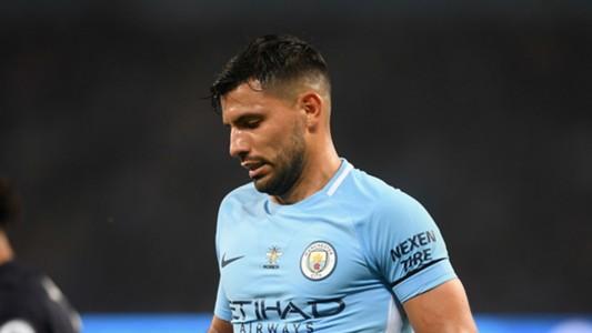 Sergio Aguero Manchester City Everton