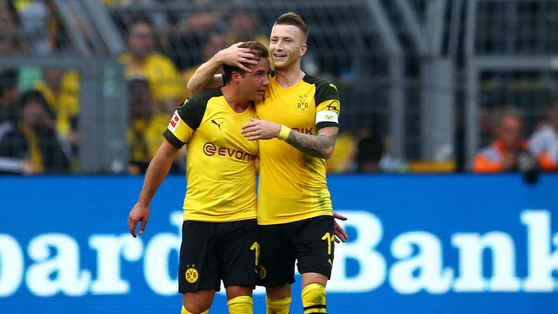 Mario Gotze Marco Reus Borussia Dortmund 2018-10-06