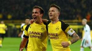 Reus Gotze Dortmund 2018
