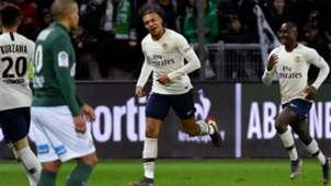 Kylian Mbappe Saint-Etienne PSG Ligue 1 17022018