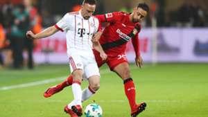 Bayer Leverkusen FC Bayern München Ribery Bellarabi