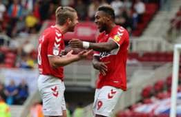 Britt Assombalonga, Middlesbrough vs. Notts County, English Championship, August 11