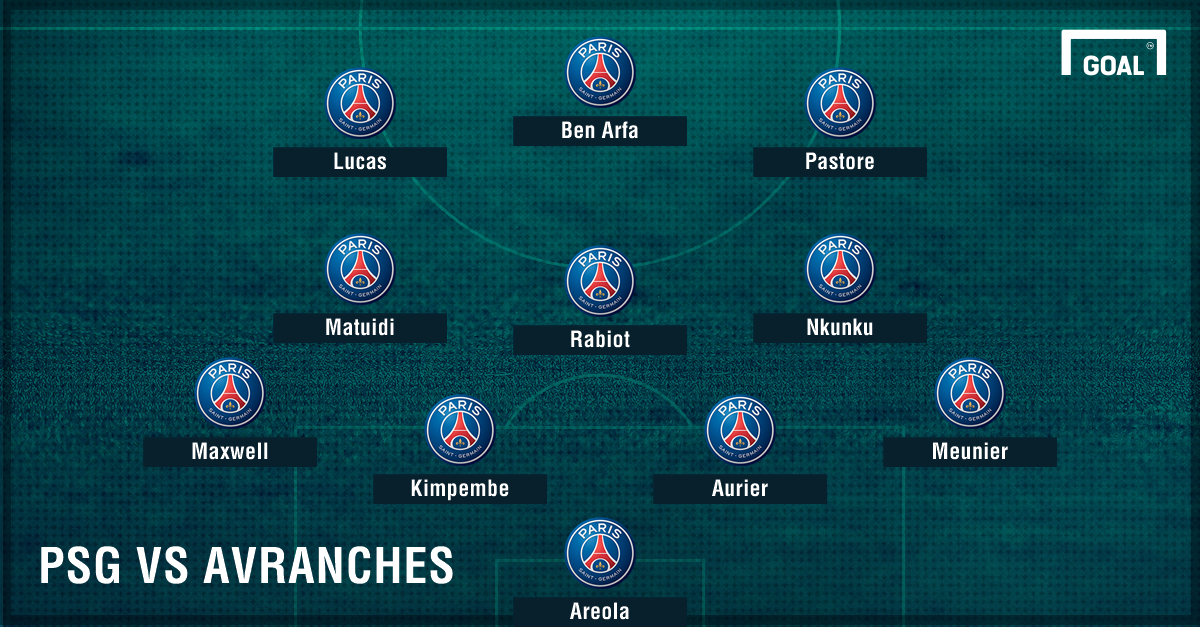 PSG vs Avranches