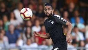 Ryad Boudebouz sent off on Celta Vigo debut