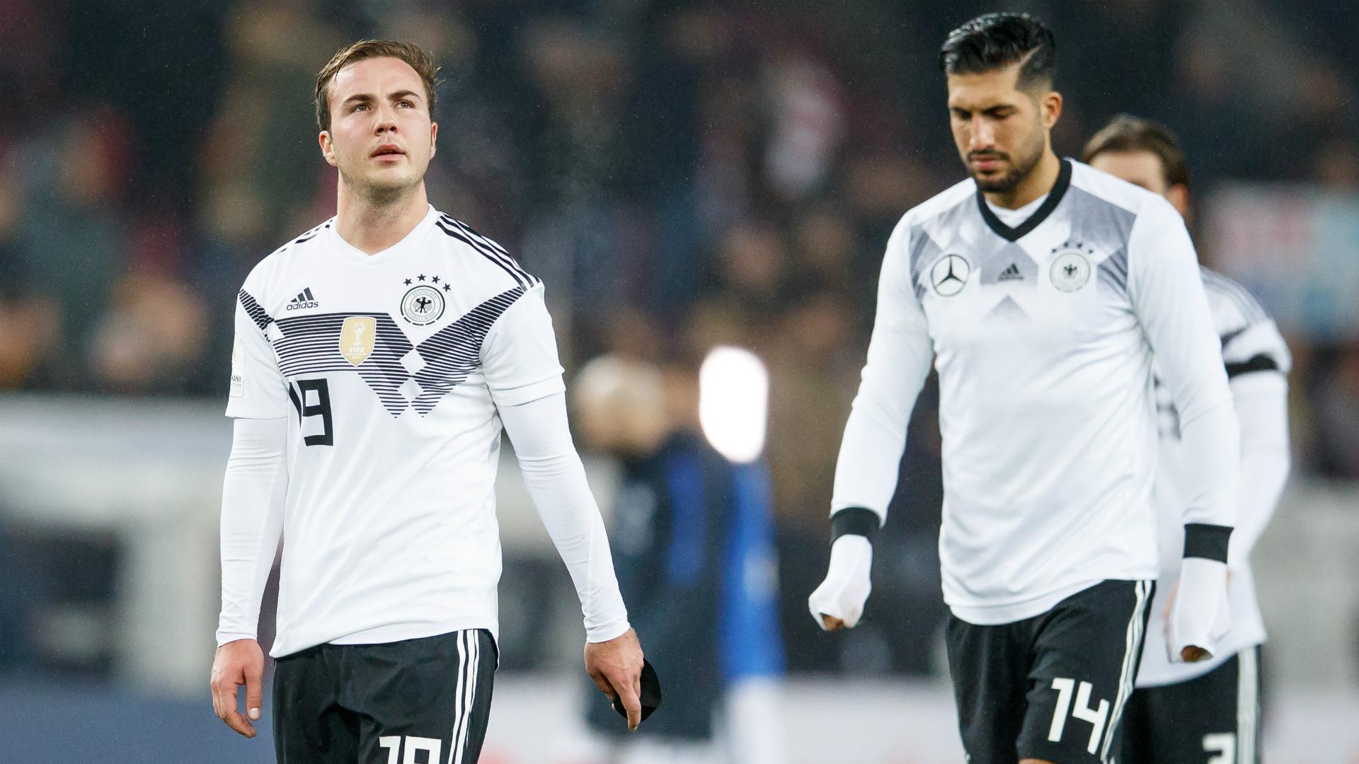 Mario Gotze Emre Can Germany
