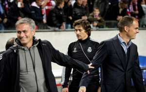 Ajax Real Madrid Jose Mourinho Frank De Boer 10/03/12