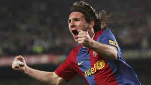 Lionel Messi Barcelona La Liga Real Madrid 2007