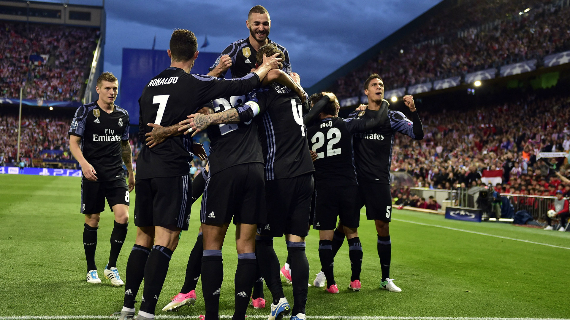 Atletico Madrid Real Madrid UEFA Champions League