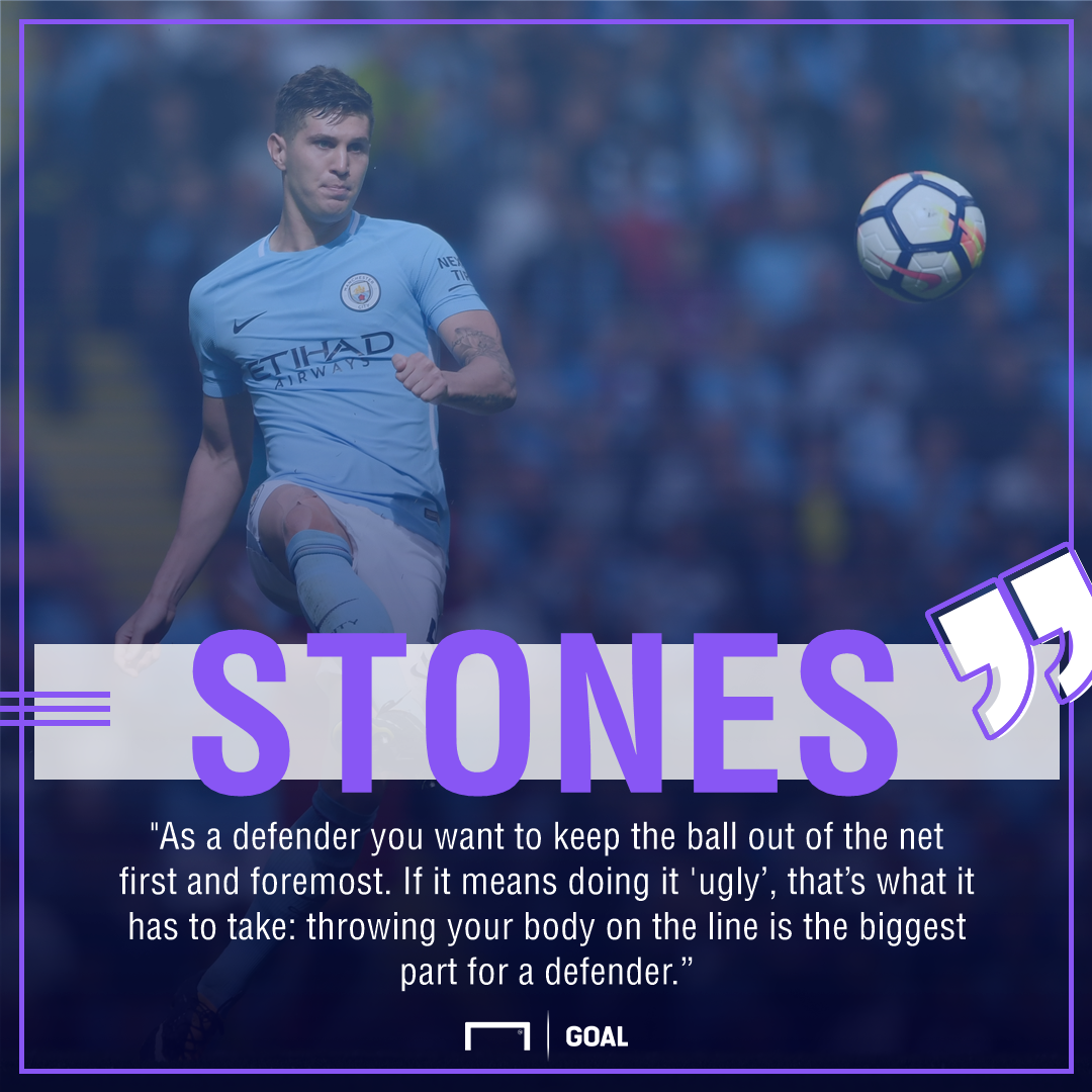 John Stones Manchester City 2016 defend ugly