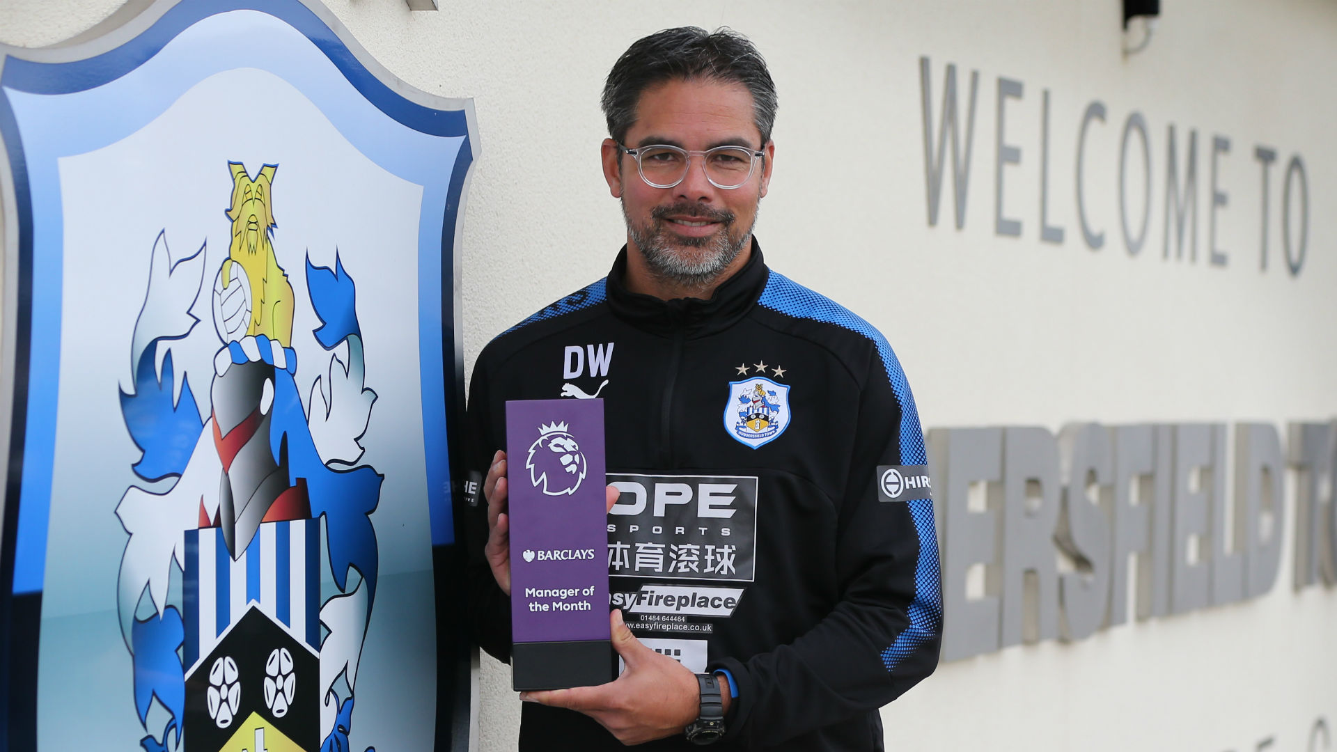 David Wagner PL manager of the month