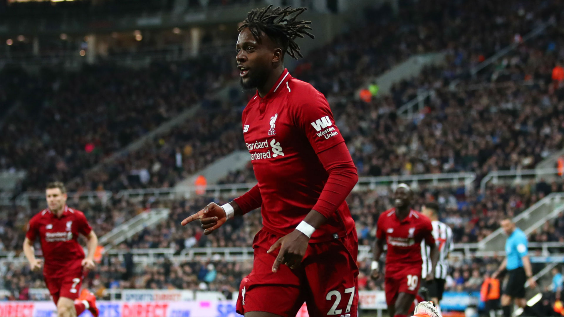 Divock Origi Liverpool Newcastle Premier League 2019