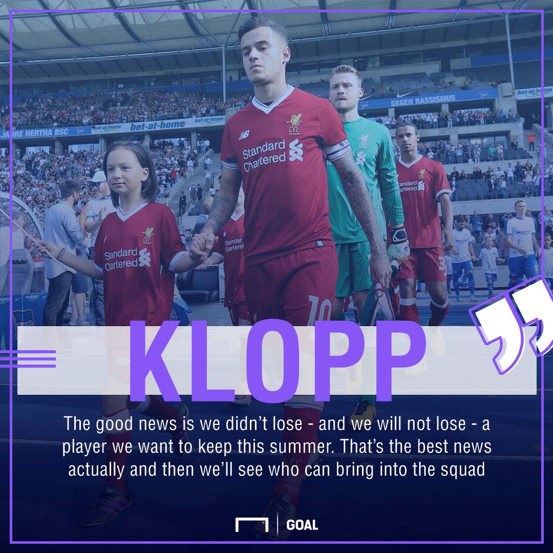 GFX Klopp Liverpool quote