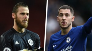 David de Gea Eden Hazard Split