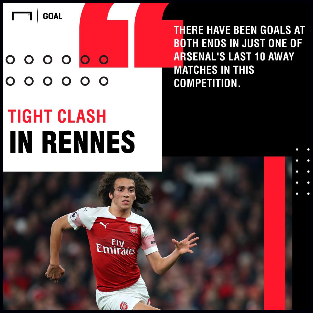 Rennes Arsenal graphic