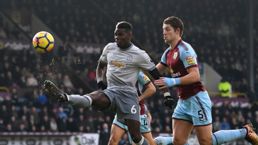 Paul Pogba Burnley Manchester United Premier League
