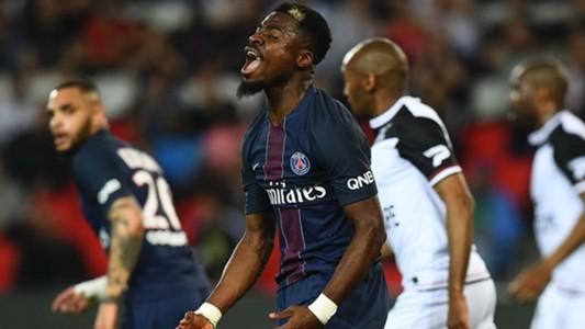 Serge Aurier PSG Guingamp Ligue 1 09042017