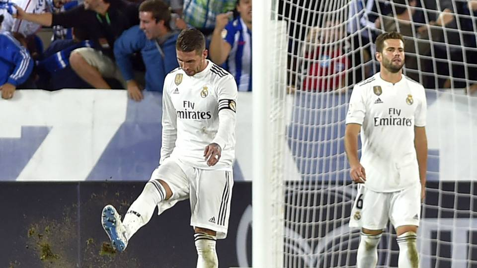 Real Madrid suffer worst goalless run in over three decades