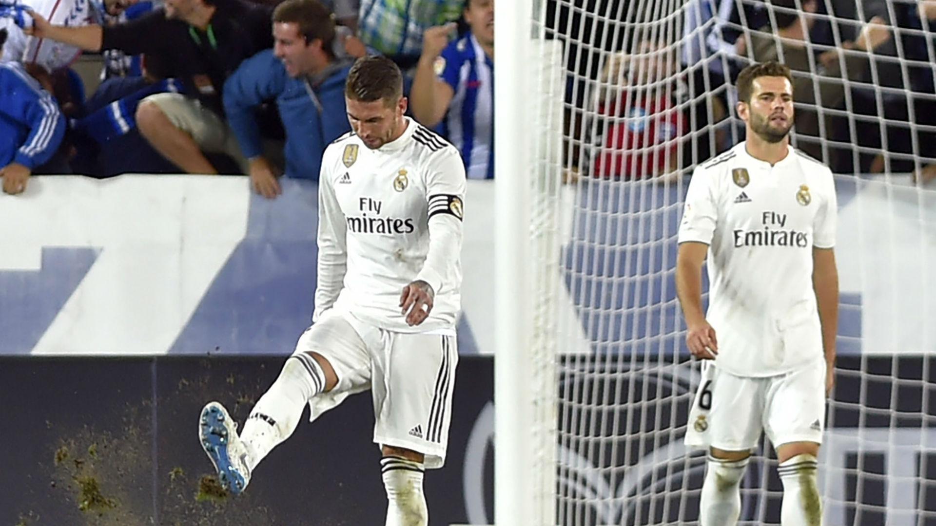 Sergio Ramos Real Madrid Deportivo Alaves