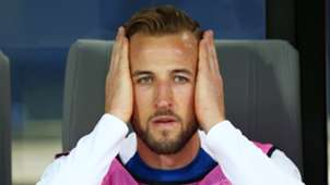 Harry Kane, England bench