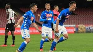 Milik Mertens - Napoli Udinese
