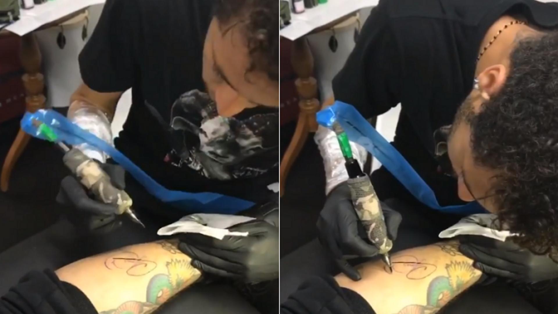 Neymar tatuagem