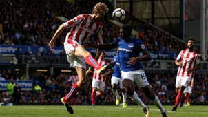 Peter Crouch Stoke City Everton