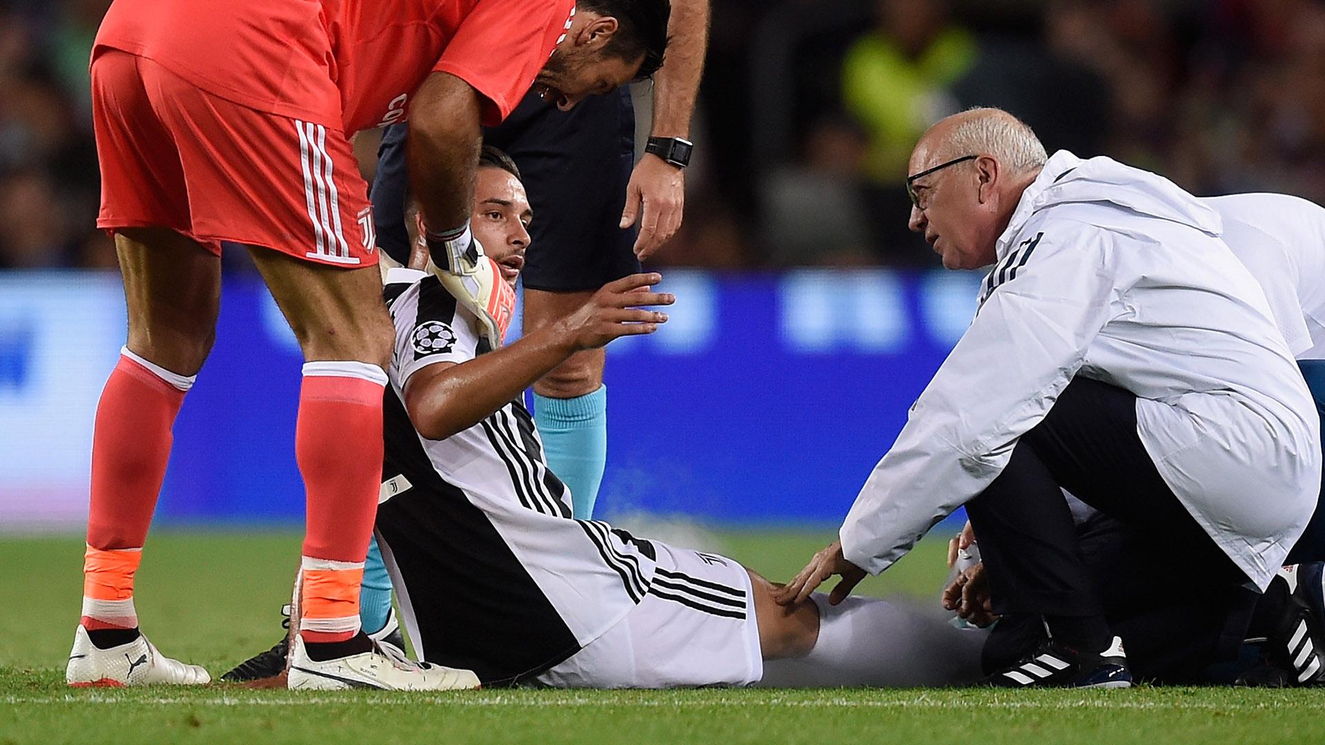 Juventus, De Sciglio: scongiurate lesioni gravi. A giorni nuovi esami