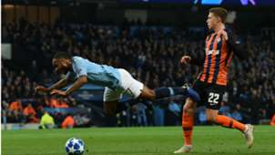 Raheem Sterling Manchester City UEFA Champions League 07112018