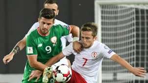 Shane Long Republic of Ireland Georgia World Cup qualifier