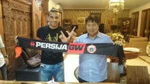 Bruno da Silva & Gede Widiade Persija Jakarta