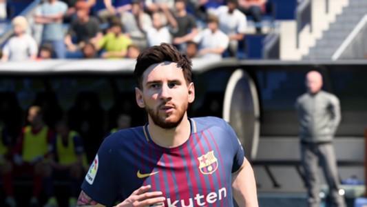 FIFA 18 Messi