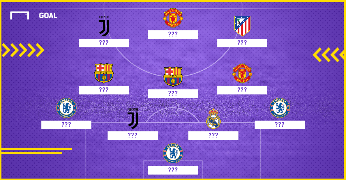 Great Players never in FIFA best XI