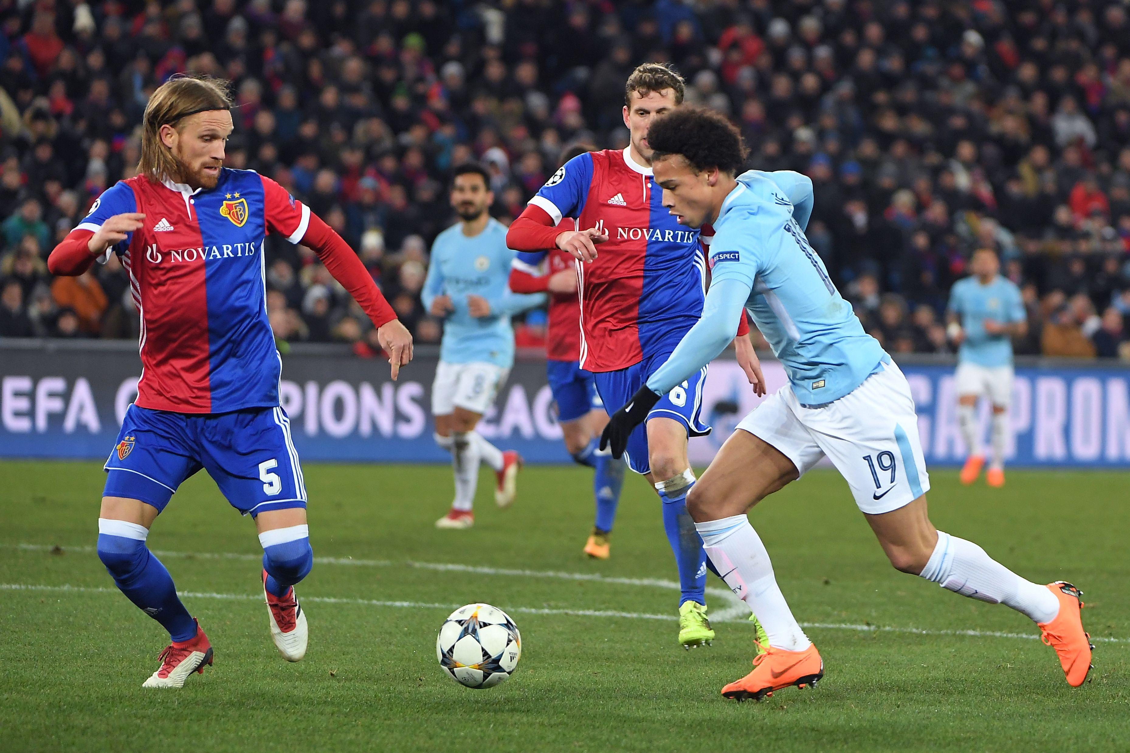 Leroy Sané - FC Basel v Manchester City