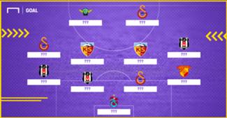 Süper Lig'de 23. haftanın en iyi 11'i