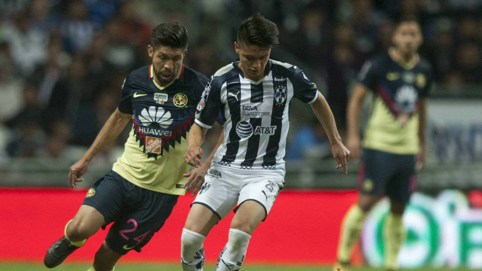 Jonathan Gonzalez Oribe Peralta Monterrey Club America
