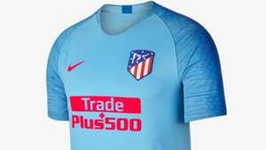 Atletico Madrid deplasman formasi