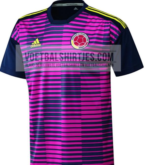 69eb3a80559 Se filtró el diseño de la camiseta alternativa de Colombia para ...