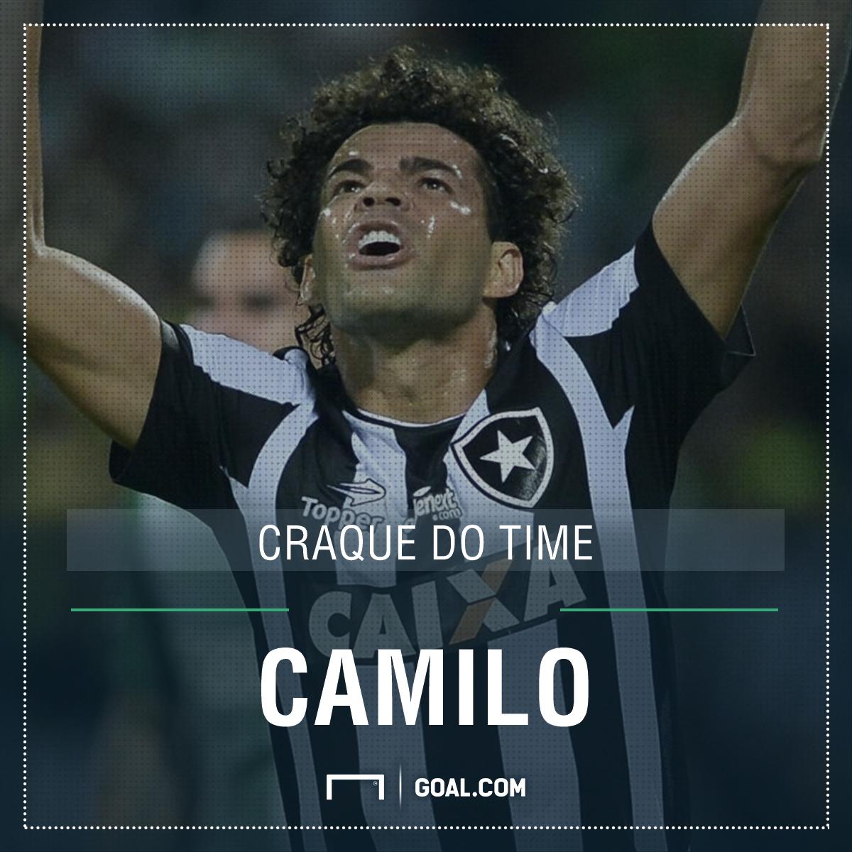 GFX Botafogo 2017 Brasileirão Camilo Craque